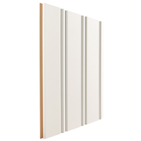 Artise & Wright 3.8125-In X 2.667-Ft White Mdf Wall Plank...