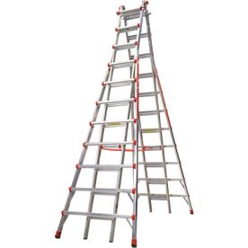 Little Giant Ladders 21-Ft Aluminum Type 1A - 300 Lbs. Te...