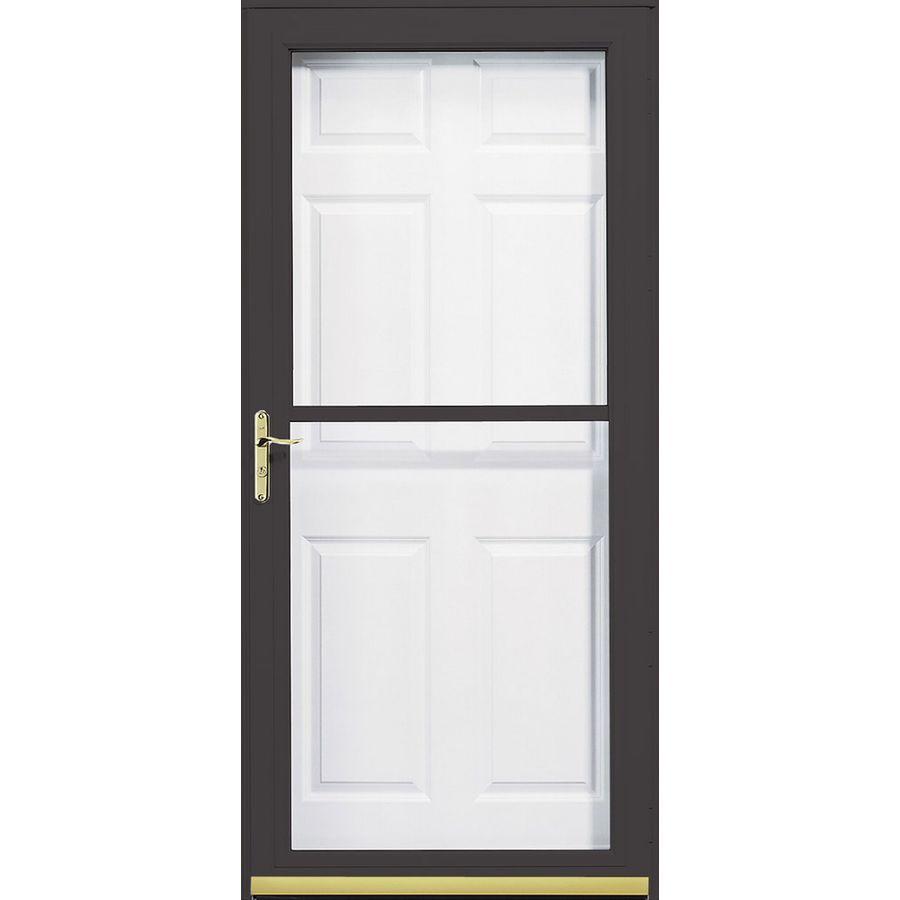 Pella Storm Door Installation Manual