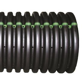 Shop Hancor 6 In X 10 Ft Corrugated Perforated Pipe At