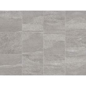 Shop Style Selections Skyros Gray Porcelain Floor Tile