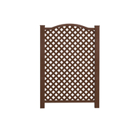 Expandable Lattice Fence Fencing