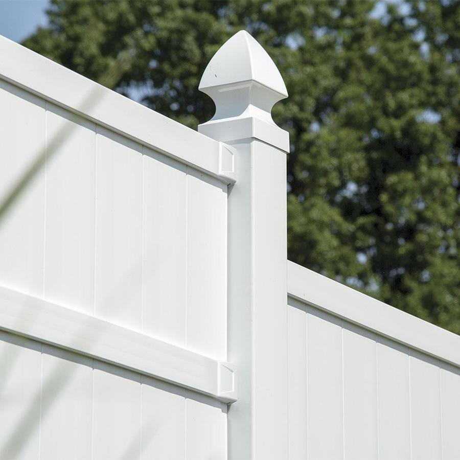 Set And Secure 2 Pack White Vinyl Fence
