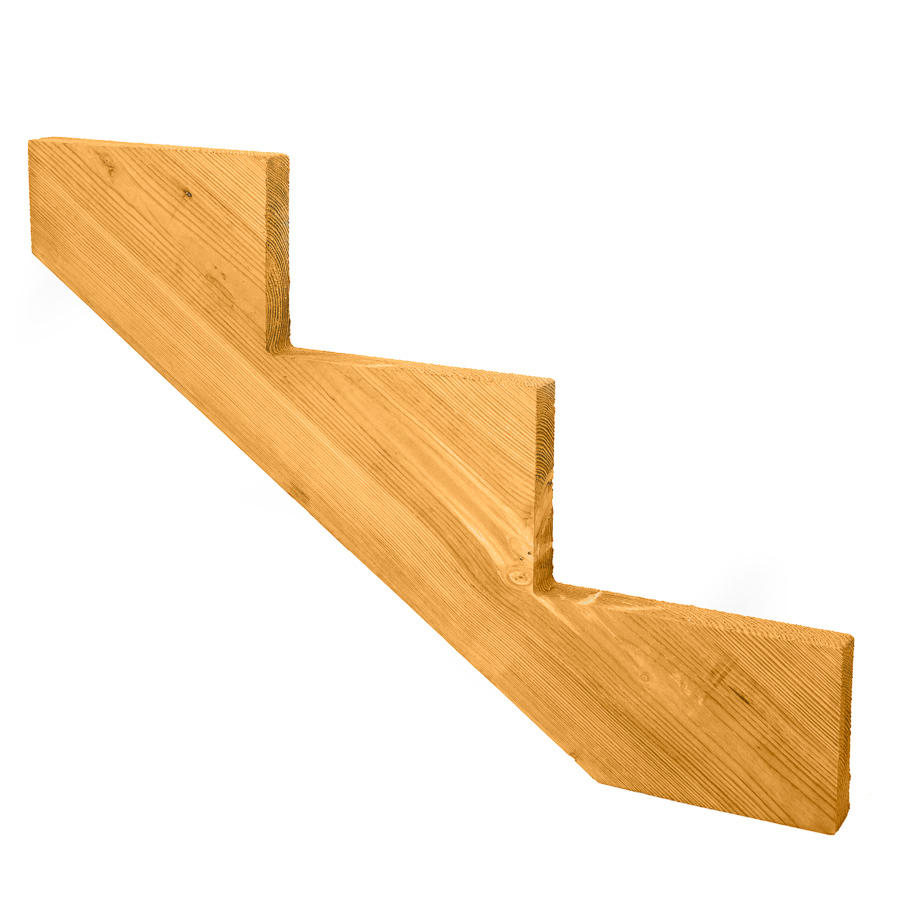 Shop Top Choice 3 Step Pti Treated Deck Stair Stringer At