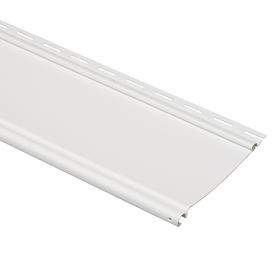 Shop Durabuilt 6 5 In X 148 In White Beaded Vinyl Siding