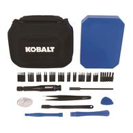 Deals on Kobalt 50-Piece Electronics Repair Screwdriver Bit Set