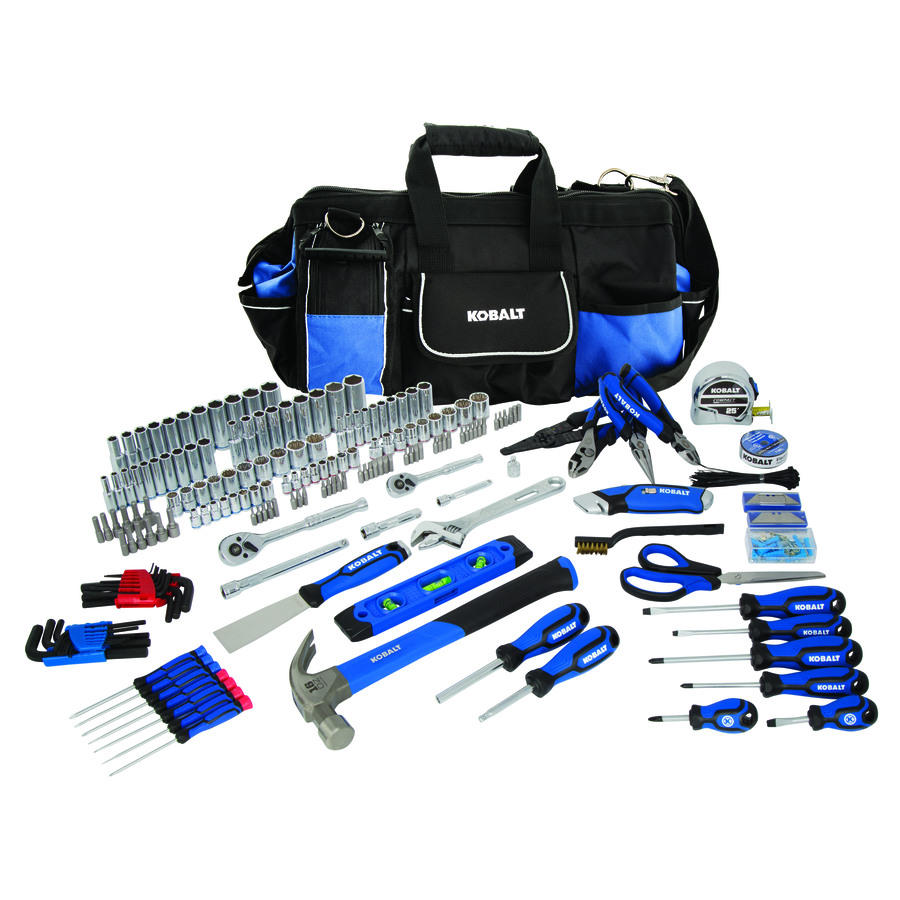 Shop Kobalt 230-Piece Household Tool Ith Soft Case At