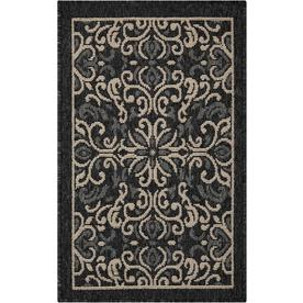 Display Product Reviews For Caribbean Charcoal Indoor Outdoor Area Rug Common 2 X