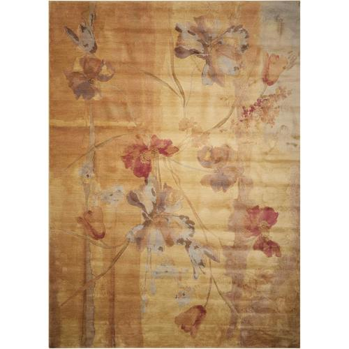 Nourison Somerset Beige Indoor Area Rug (Common: 2 x 3; Actual: 2-ft W x 2.75-ft L) 57139