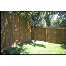 Lowe S Pine Dog Ear Pressure Treated Wood Fence Picket