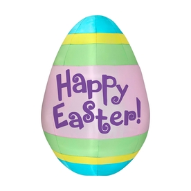 J. Marcus Inflatable Easter Egg Outdoor Easter Decoration...