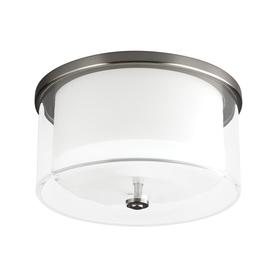 Monte Carlo Fan Company Piper 1-Light Brushed Steel Led C...