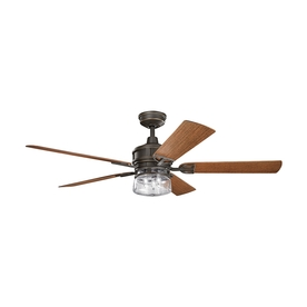 Shop ceiling fans at lowes display product reviews for lyndon 60 in olde bronze standard indooroutdoor residential downrod aloadofball Image collections