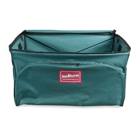 TreeKeeper 27-in x 14-in Green Polyester Ornament Storage Bag TK-10127-RS