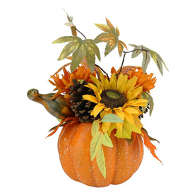 Northlight Plastic Pumpkin Figurine Atg12985483