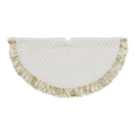 Northlight 48-In White Polyester Christmas Tree Skirt Atg...