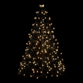 Crab Pot Trees 2-ft 11-in Pre-Lit Artificial Christmas Tree with Clear White Incandescent Lights G3C