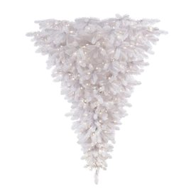 Vickerman 6-ft Pre-Lit Upside-Down Artificial Christmas Tree with Clear White Incandescent Lights A117536