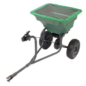 Precision Products 75-Lb Capacity Tow-Behind Lawn Spreade...