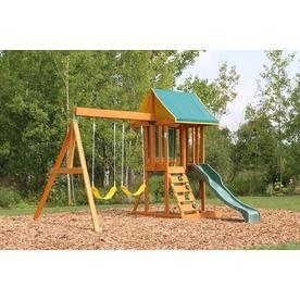 Kidkraft Appleton Wooden Swing Set/Playset F24148