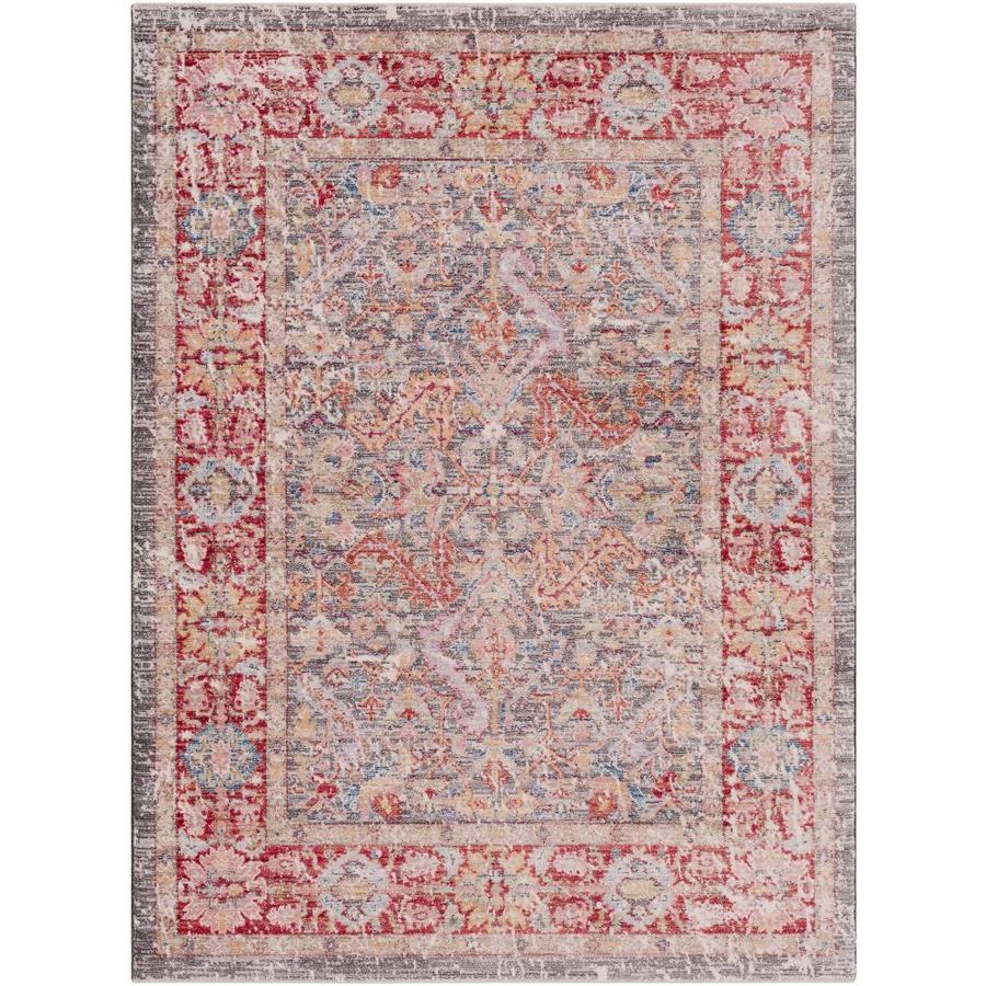 Rumi Burgundy Indoor Oriental Area Rug
