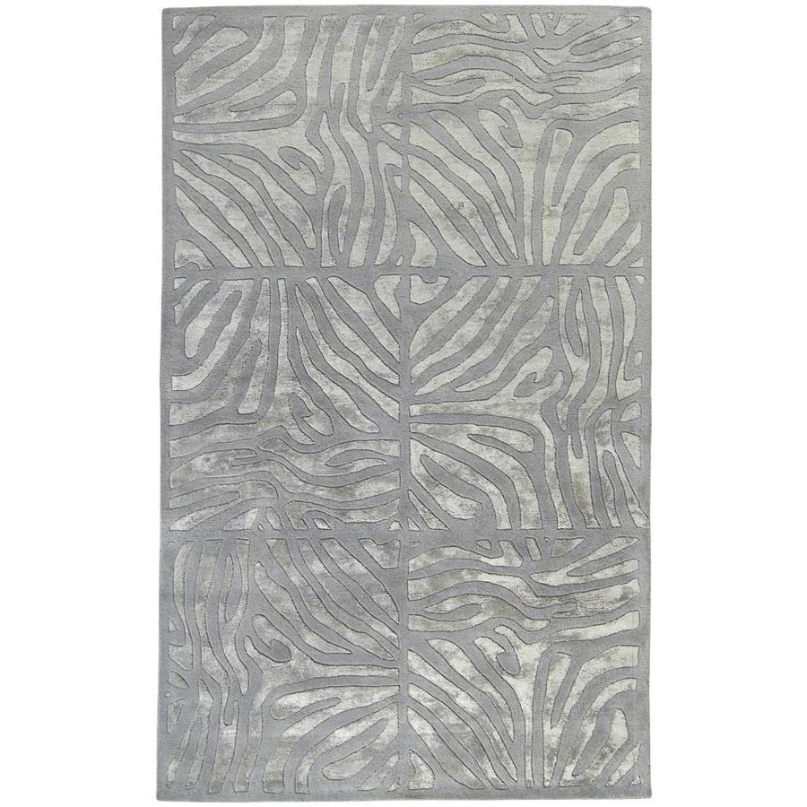 Suryasurya Modern Classics 5 X 8 Gray Animal Print Industrial Handcrafted Area Rug Can1935 58 Dailymail