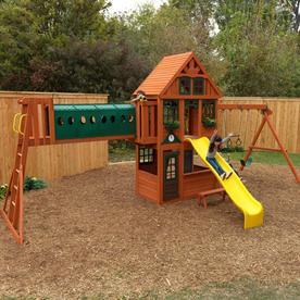 Kidkraft Huntington Resort Wooden Swing Set/Play Set F24826