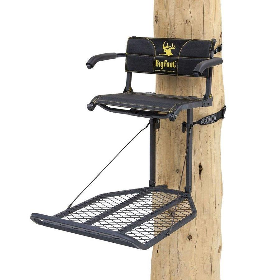 Ardisam River's Edge Big Foot Xl Lounger Hang On Extra Wide Portable Hunting Tree Stand Re556 thumbnail