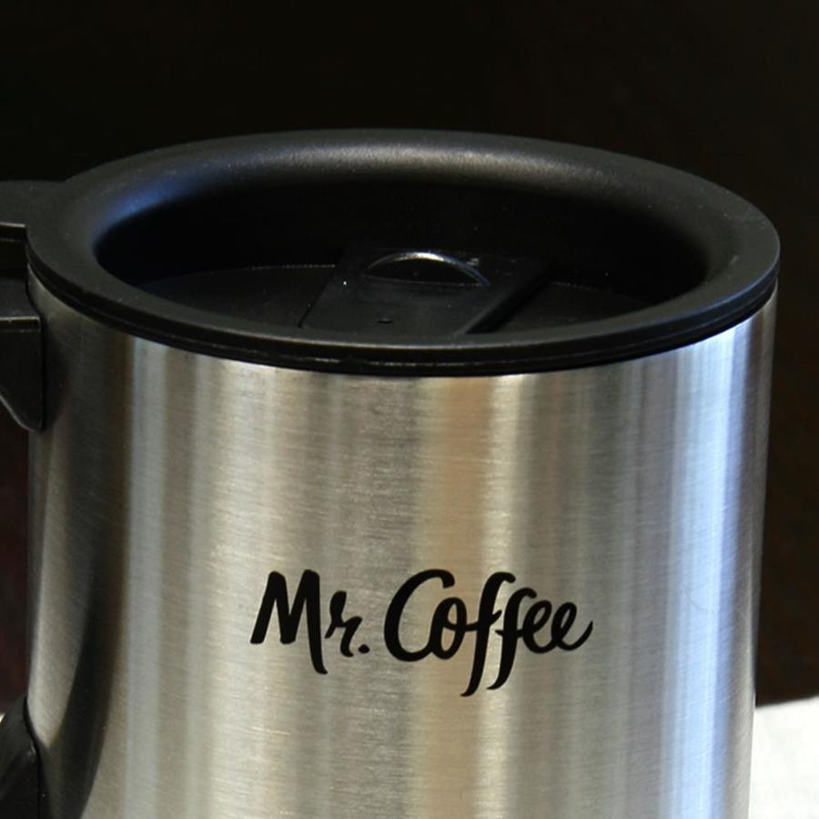 Mr Coffee Expressway 15 Fl Oz Stainless Steel Travel Mug In The Water Bottles Mugs Department At Lowes Com