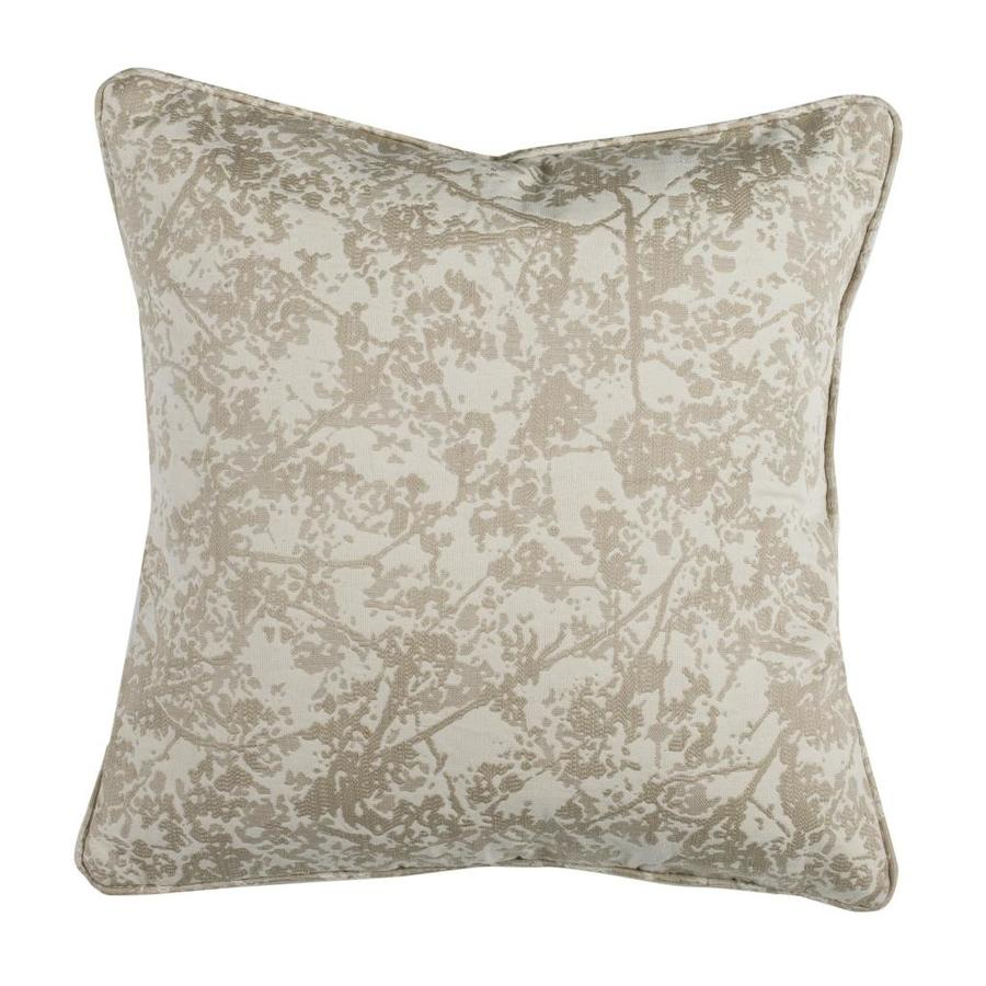 Safavieh Simona 18 In W X 18 In L Indoor Decorative Pillow In The Throw Pillows Department At Lowes Com