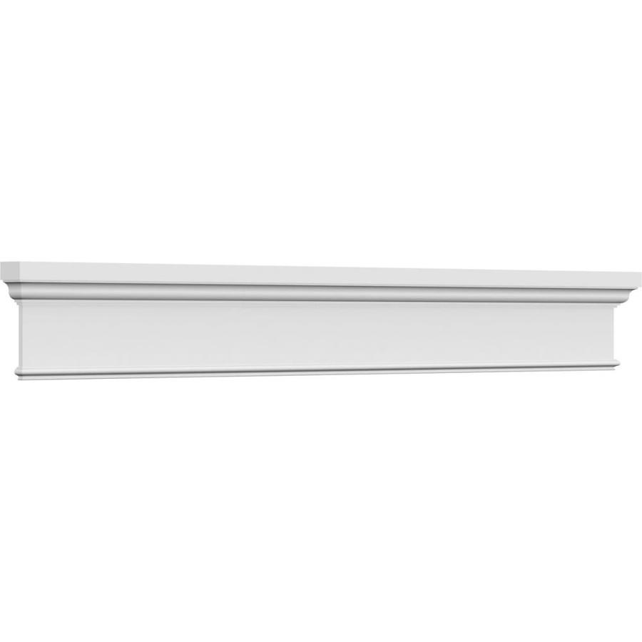 Ekena Millwork Craftsman 13 3 4 In X 80 1 4 In Unfinished Polyurethane Crosshead Entry Door Casing Accent In The Crosshead Window Header Department At Lowes Com
