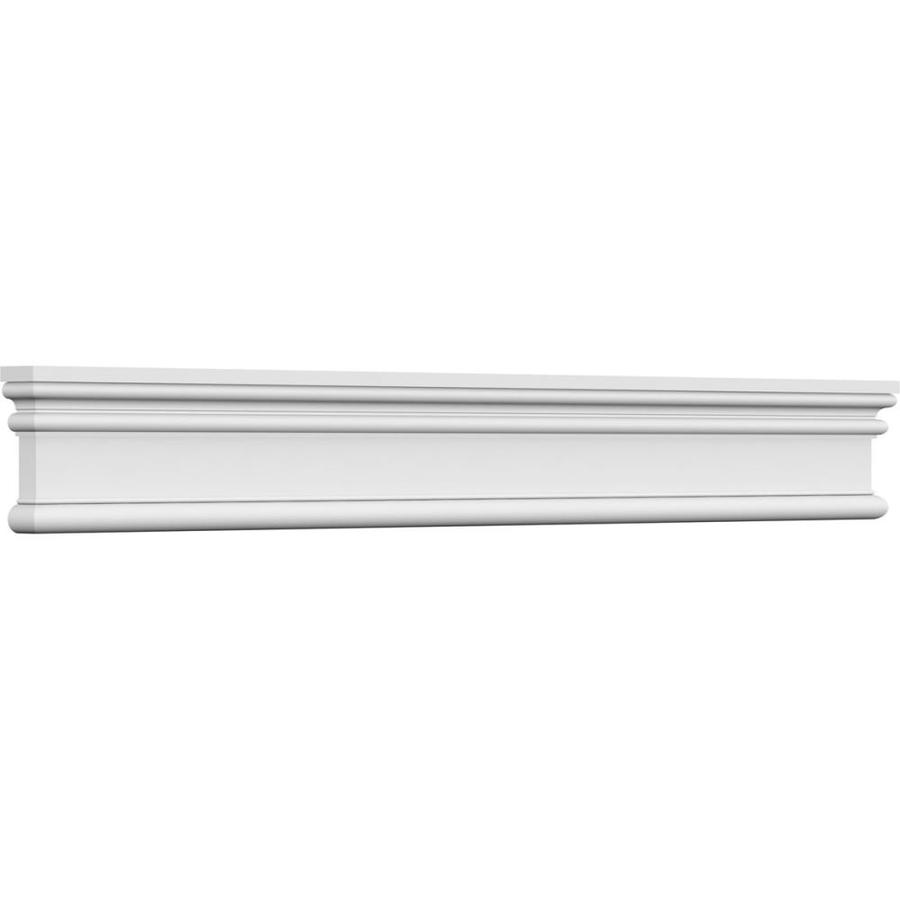 Ekena Millwork Bedford Crosshead 3 1 2 In X 65 1 8 In Unfinished Polyurethane Crosshead Entry Door Casing Accent In The Crosshead Window Header Department At Lowes Com
