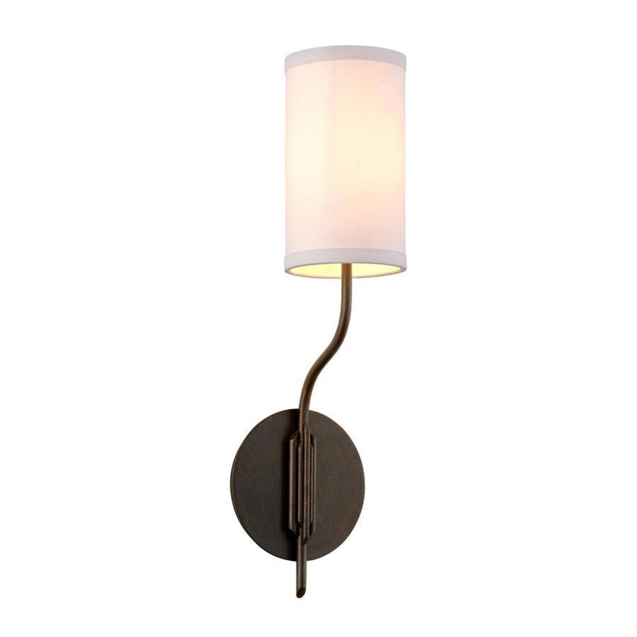 Troy Lightingtroy Lighting Juniper 5 5 In W 1 Light Juniper Bronze Transitional Wall Sconce B6171 Dailymail
