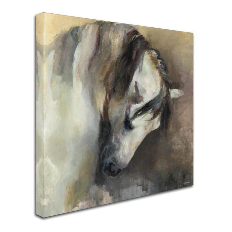 Trademark Fine Art Animals Framed 35 In H X 35 In W Figurative Canvas Print In The Wall Art Department At Lowes Com