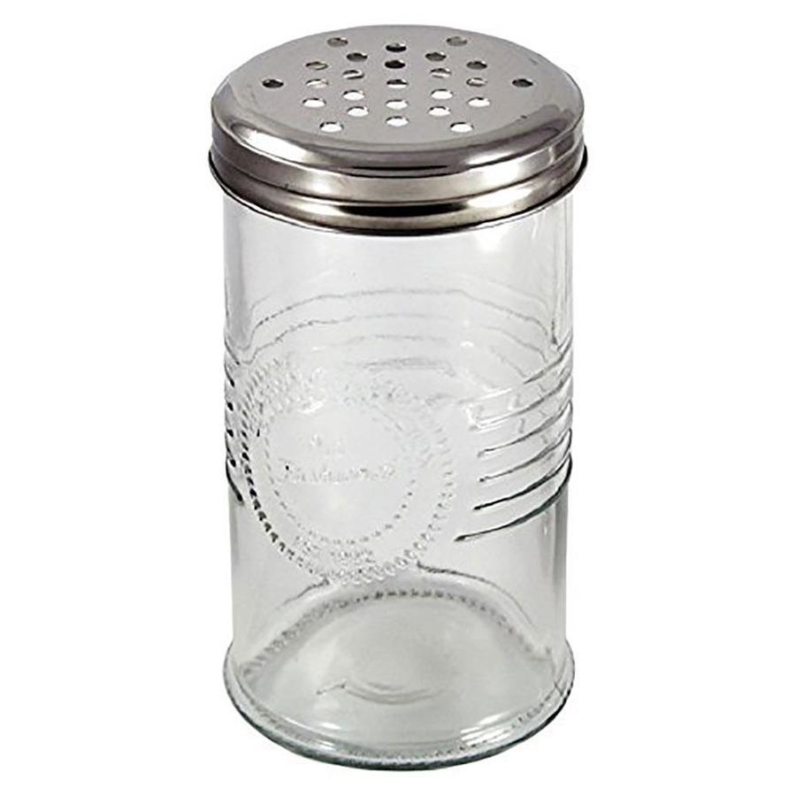 Old Dutch 566SS Stainless Steel Oval Salt /& Pepper Set Salt and Pepper Shaker 3 High