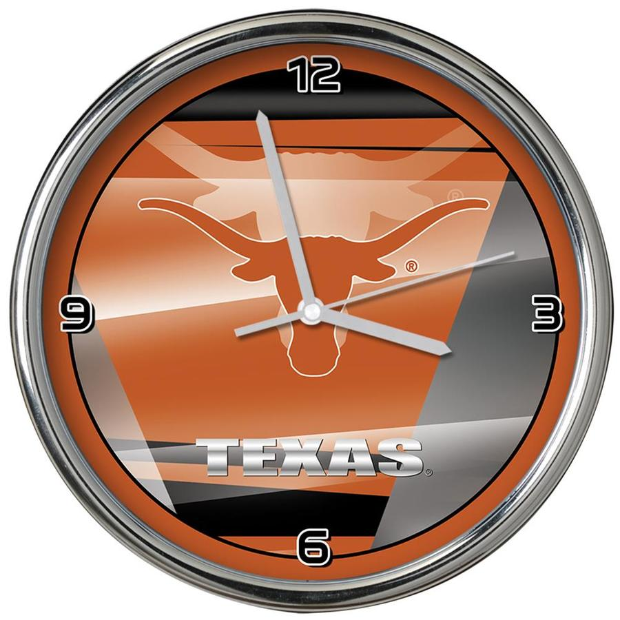 Houston Texans Chrome Clock