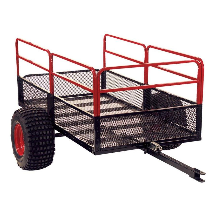 Yutrax Yutrax Trail Warrior X2 1250 Pound Capacity Off Road Utility Atv Trailer And Hitch In The Utility Trailers Department At Lowes Com