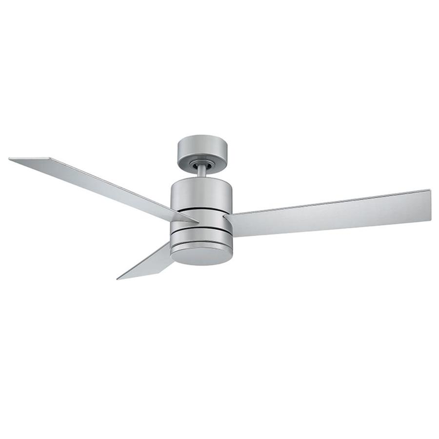 Modern Forms Axis 52 In Titanium Led Indoor Outdoor Smart Ceiling Fan With Light And Remote 3 Blade In The Ceiling Fans Department At Lowes Com