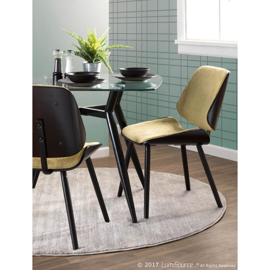Lumisource Clara Glass Tempered Glass Dining Table With Black Metal Base In The Dining Tables Department Mqcpka