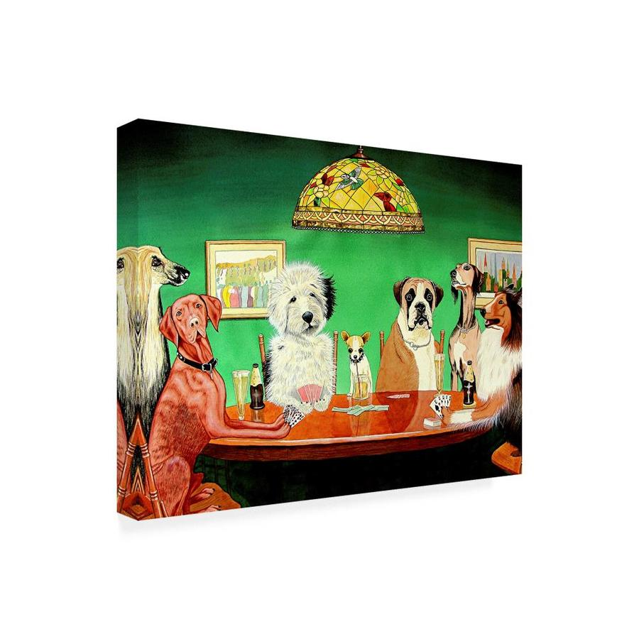 Trademark Fine Art Animals Framed 18 In H X 24 In W Animals Canvas Print In The Wall Art Department At Lowes Com