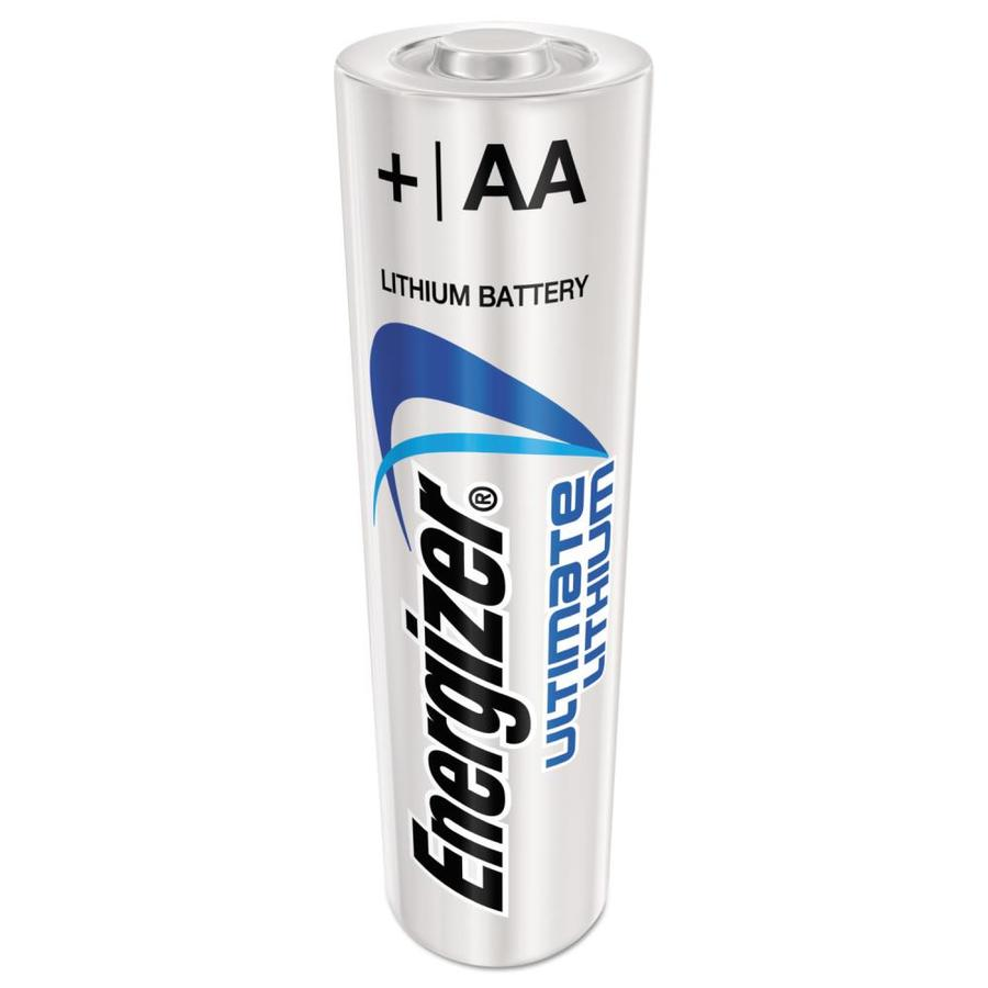 Energizer Ultimate Lithium Aa Batteries 24 Pack In The Aa Batteries Department At Lowes Com