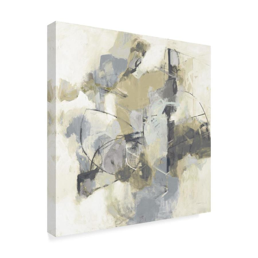 Trademark Fine Art Abstract Framed 24 In H X 24 In W Abstract Canvas Print In The Wall Art Department At Lowes Com