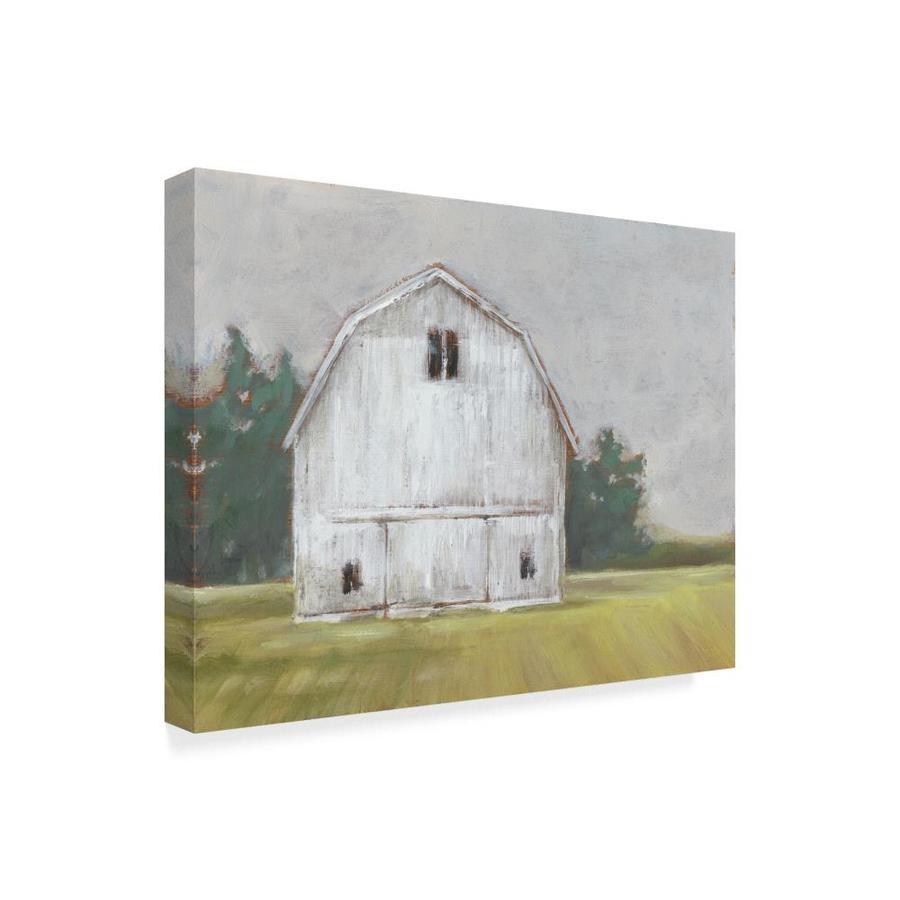 Trademark Fine Art Landscapes Framed 35 In H X 47 In W Landscape Canvas Print In The Wall Art Department At Lowes Com