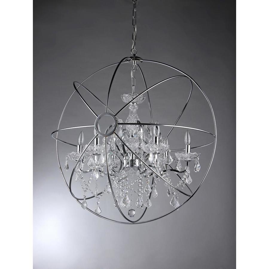 Transitional Teardrop Glass Chandelier 3 Light 13