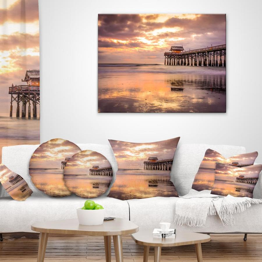Designart Cocoa Beach Florida Landscape Photo Canvas Art Print In The Wall Art Department At Lowes Com
