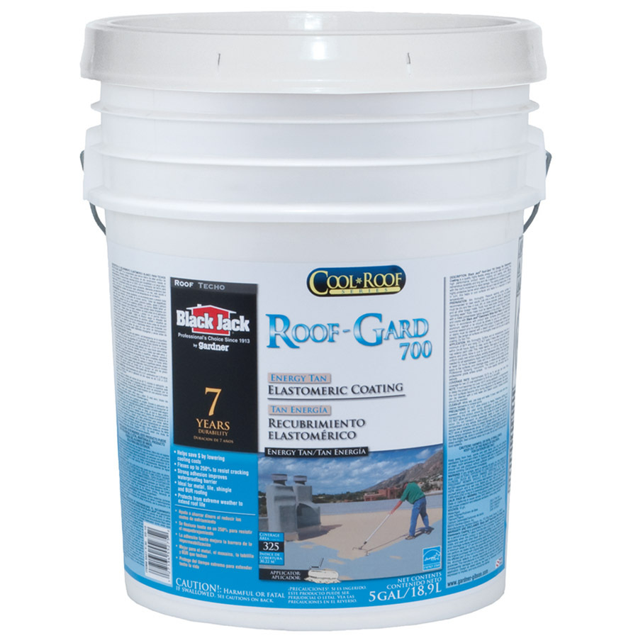 Shop Black Jack 5 Gallon Waterproof Elastomeric Roof