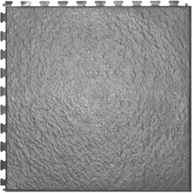 Perfection Floor Tile 20-in W x 20-in L Light Gray Slate Garage Flooring Tile HS552LG50