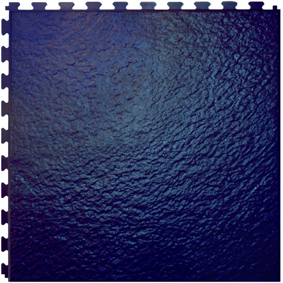 Shop Perfection Floor Tile 18 Quot W X 18 Quot L Navy Blue Slate