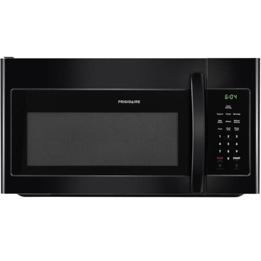 Frigidaire 1.6-cu ft Over-the-Range Microwave (Black) | 286412