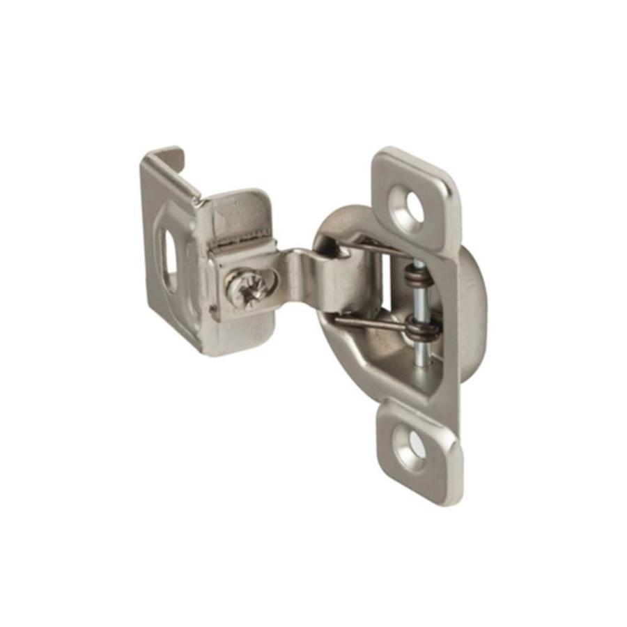 2-Pack 1-1/4-In Satin Nickel Self-Closing Soft Close Self-Closing Cabinet Hinge 645187